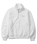 그루브라임() 2016 HIGH NECK HALF ZIP-UP (WHITE) [GZ001E43WH]