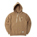 세인트페인(SAINTPAIN) SP GUADALUPE HOOD-LS-BROWN