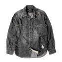 세인트페인(SAINTPAIN) SP JAMES DENIM SHIRT-BLACK