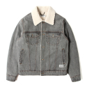 세인트페인() SP BOAZ DENIM JACKET-GRAY