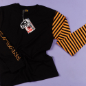 어피스오브케이크(APOC) Stripe Long Sleeve T-shirts_Orange