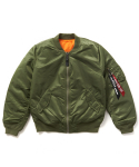알파 인더스트리(ALPHA INDUSTRIES) MA-1 W / WJM44500C1 - SAGE GREEN