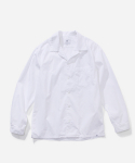 OPEN COLLAR SHIRTS WHITE