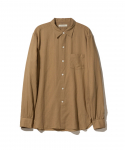 올드조(OLD JOE & CO) OLD JOE & CO. / SIMPLE SMALL COLLAR SHIRTS / SAND