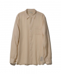 올드조(OLD JOE & CO) OLD JOE & CO. / SIMPLE SMALL COLLAR SHIRTS / OFF WHITE
