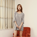 와드로브(WARDROBE) TIE UP SLEEVE KNIT_GRAY