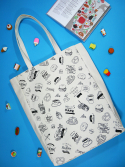 소우리얼(SEWREAL) SEWREAL MARKET DAY BIG TOTE WHITE