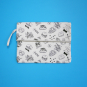 소우리얼(SEWREAL) SEWREAL MARKET DAY CLUTCH WHITE
