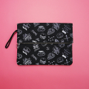 SEWREAL MARKET DAY CLUTCH BLACK