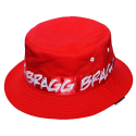 브래그(BRAGG) 16 BUCKETHAT OF BOTH SIDES [RED/BLACK]