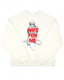 클럿 스튜디오(CLUT STUDIO) 0 3 you make me shy sweat shirt : ivory