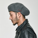 OVER SIZE BERET [GRAY]