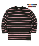 에이테일러(A-TAILOR) Box stripe T-shirt