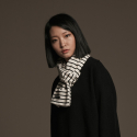 유주얼 에딧(USUAL EDIT) Edit Stripe Scarf(Ivory)