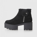 칩먼데이(CHEAP MONDAY) TRACTOR HIGH FUR 0180168 BLK