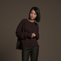유주얼 에딧(USUAL EDIT) Edit Neck Knit(Rambrandt)