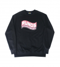 런디에스(RUNDS) RUNDS logo sweatshirt (black)