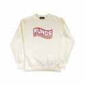 런디에스(RUNDS) RUNDS logo sweatshirt (cream)