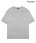 피스워커() PCR Short Sleeve - Grey / Semiover
