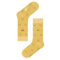 삭스어필(SOCKS APPEAL) SML matches yellow pattern