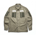 Velcro Troops Shirts Olive