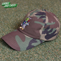 뱅크투브라더스(BANK2BROTHERS) BAD TRIP BEAR CAMO CAP