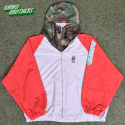뱅크투브라더스(BANK2BROTHERS) BTB BAD TRIP WB JACKET (RED GRAY CAMO)