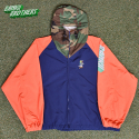 뱅크투브라더스(BANK2BROTHERS) BTB BAD TRIP WB JACKET (BLUE ORANGE CAMO)