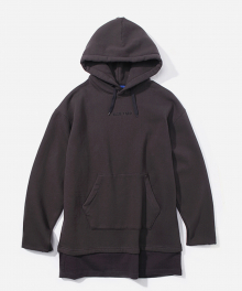 LAYERED REBEL YOUTH HOODIE BLACK