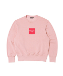 문수권세컨(MSKN2ND) FW16 BOX LOGO SWEATSHIRT PINK