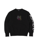 문수권세컨(MSKN2ND) BALLOON SWEATSHIRT BLACK