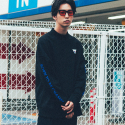 본챔스(BORN CHAMPS) BC HALF HIGH NECK SWEATSHIRT BLACK CEPDMMT02BK