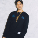 본챔스(BORN CHAMPS) CHAMPS SWEATSHIRT 2 BLACK CEPDMMT04BK