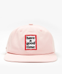 해브 어 굿 타임(HAVE A GOOD TIME) Frame 6 Panel Cap - Pink