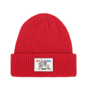 에이비로드(ABROAD) Patch Point Beanie (red)