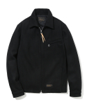 유니폼브릿지() wool single jacket black