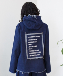 GENDERLESS DENIM HOODIES