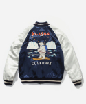 커버낫(covernat) SOUVENIR JACKET NAVY