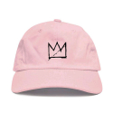 ANY MEMES CROWN STRAPBACK (PINK)