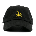 애니매매스(ANY MEMES) ANY MEMES Flying dog STRAPBACK (BLACK)