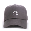 애니매매스(ANY MEMES) ANY MEMES ILL FACE STRAPBACK (GREY)