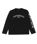 문수권세컨(MSKN2ND) RENAISSANCE LS T-SHIRT BLACK