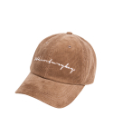 문수권세컨(MSKN2ND) CORDUROY BALL CAP CAMEL