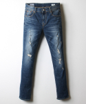 데님인디고마스터(DENIMINDIGOMASTER) L401 LEO SLIM STRAIGHT FIT