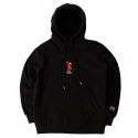로맨틱크라운(ROMANTIC CROWN) [ROMANTICCROWN]ELMO HOODIE_BLACK
