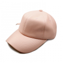 비블랙(BEBLACK) SOLID LEATHER BALLCAP PINK