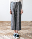메리먼트(MERRIMENT) CHECK PANTS (GREY)