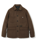 유니폼브릿지() wool coverall jacket brown