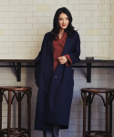 몬츠() monts195 oversize trench coat (navy)
