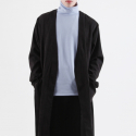 ginger gown-coat (black)